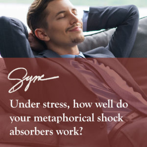 cope better with stress